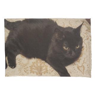 Funda De Cojín Gato negro Roxie