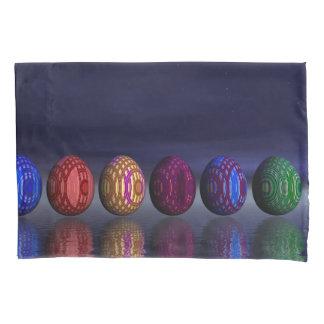Funda De Cojín Huevos coloridos para pascua - 3D rinden