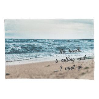 Funda De Cojín La playa está llamando y debo ir