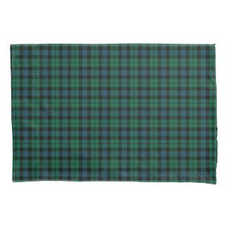 Funda De Cojín Tartán verde y azul del escocés del clan de MacKay