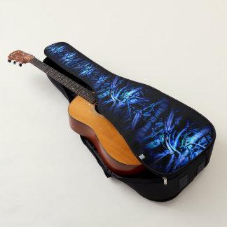 Funda De Guitarra Azul salvaje loco