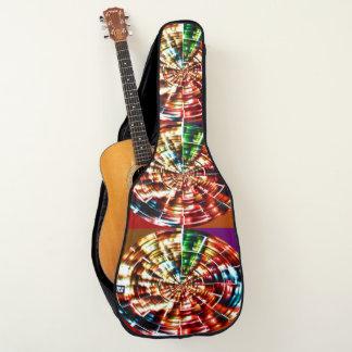 Funda De Guitarra Círculos potentes de la energía - vibraciones del