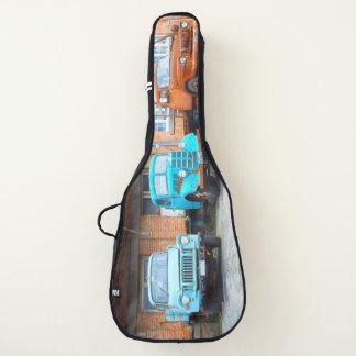 Funda De Guitarra escuela vieja tres