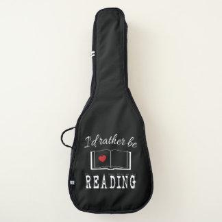 Funda De Guitarra Estaría leyendo bastante