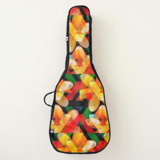 Funda De Guitarra Flores tribales acústicas