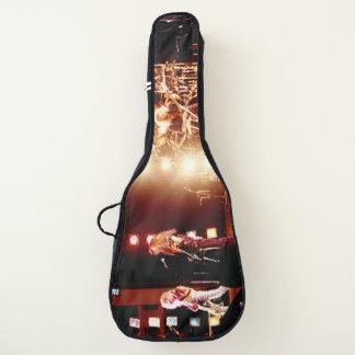 Funda De Guitarra Logotipo loco vivo incorporado venganza del malo