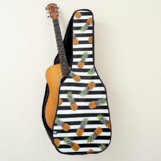 Funda De Guitarra Negro femenino del modelo el | de la piña del