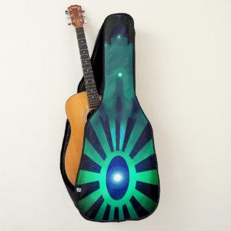 Funda De Guitarra Rayos abstractos