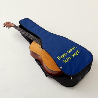 Funda De Guitarra Tas uni Blauw de Gitaar