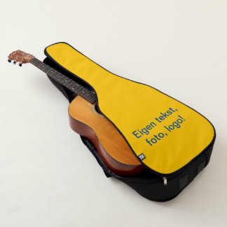 Funda De Guitarra Tas uni Geel de Gitaar