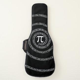 Funda De Guitarra Un espiral del gráfico del pi en a