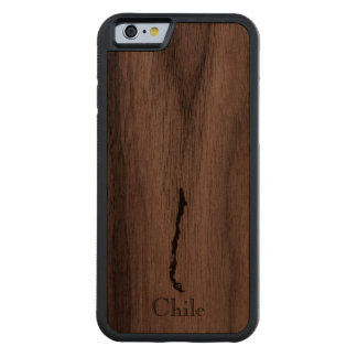 FUNDA DE iPhone 6 BUMPER NOGAL