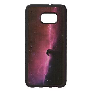 Funda De Madera Para Samsung S6 Edge Plus Nebulosa de Horsehead que sorprende