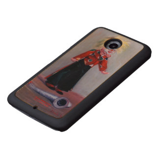 Funda De Madera Payaso/Pallaso/Clown