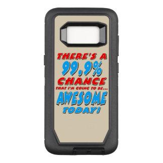 Funda Defender De OtterBox Para Samsung Galaxy S8 99,9% El IR A SER IMPRESIONANTE (negro)