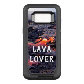 Funda Defender De OtterBox Para Samsung Galaxy S8 Amante de la lava
