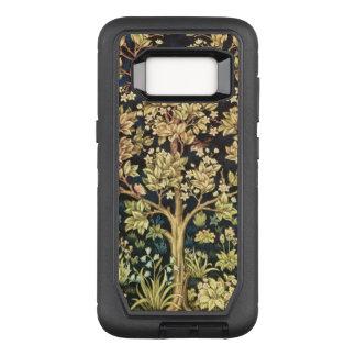 Funda Defender De OtterBox Para Samsung Galaxy S8 Árbol de William Morris del Pre-Raphaelite del