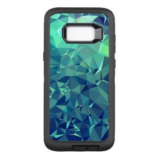Funda Defender De OtterBox Para Samsung Galaxy S8+ Arte elegante y moderno de Geo - glaciar magnífico
