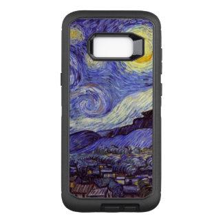 Funda Defender De OtterBox Para Samsung Galaxy S8+ Bella arte del vintage de la noche estrellada de