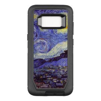 Funda Defender De OtterBox Para Samsung Galaxy S8 Bella arte del vintage de la noche estrellada de