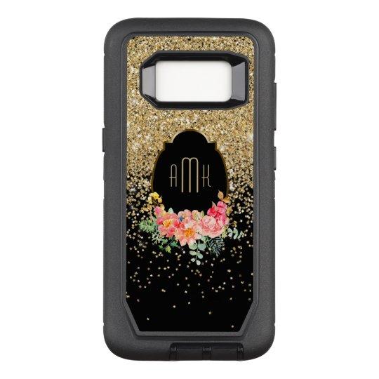 Funda Defender De OtterBox Para Samsung Galaxy S8 Brillo de conexión en cascada del oro con el