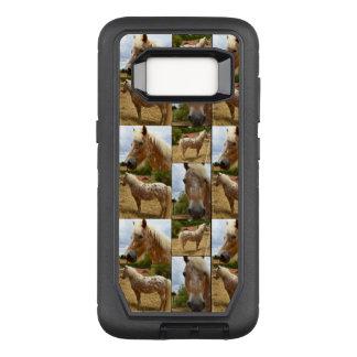 Funda Defender De OtterBox Para Samsung Galaxy S8 Caballo del Appaloosa, caja de la galaxia S8 de