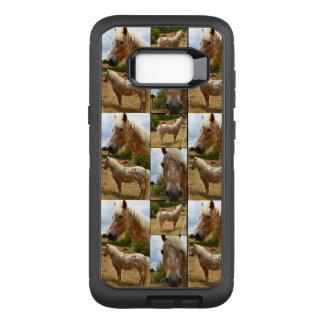 Funda Defender De OtterBox Para Samsung Galaxy S8+ Caballo del Appaloosa, galaxia S8 de Samsung del