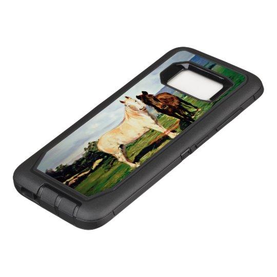 Funda Defender De OtterBox Para Samsung Galaxy S8 Caballos/Cabalos/Horses