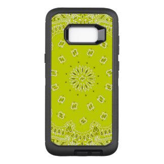 Funda Defender De OtterBox Para Samsung Galaxy S8+ Caja amarilla de Samsung S8 Otterbox del pañuelo