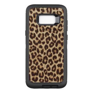 Funda Defender De OtterBox Para Samsung Galaxy S8+ Estampado leopardo