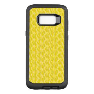 Funda Defender De OtterBox Para Samsung Galaxy S8+ Modelo amarillo del estampado de zebra