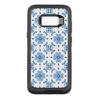 Funda Defender De OtterBox Para Samsung Galaxy S8+ Modelo de la teja de Azulejo del portugués del
