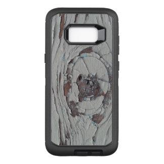 Funda Defender De OtterBox Para Samsung Galaxy S8+ Peladura del nudo de madera pintado