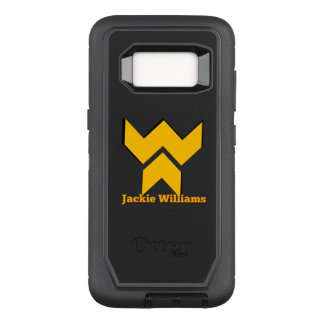 Funda Defender De OtterBox Para Samsung Galaxy S8 Serie Jackie Williams del defensor de la galaxia