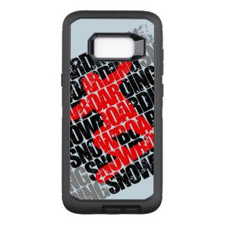 Funda Defender De OtterBox Para Samsung Galaxy S8+ Snowboard #1 (negro)