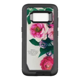Funda Defender De OtterBox Para Samsung Galaxy S8 Verso color de rosa salvaje rosado de la biblia