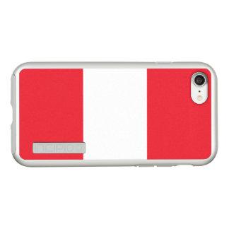 Funda DualPro Shine De Incipio Para iPhone 8/7 Bandera del caso de plata del iPhone de Austria