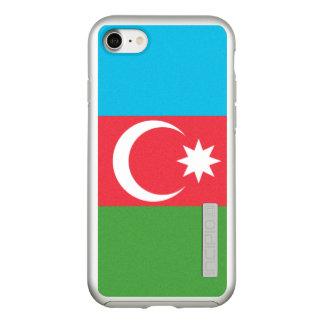 Funda DualPro Shine De Incipio Para iPhone 8/7 Bandera del caso de plata del iPhone de Azerbaijan