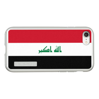 Funda DualPro Shine De Incipio Para iPhone 8/7 Bandera del caso de plata del iPhone de Iraq