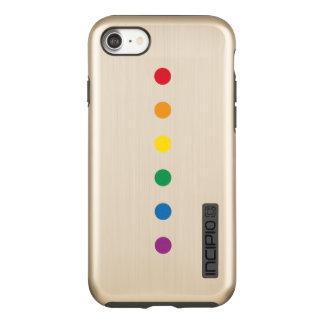Funda DualPro Shine De Incipio Para iPhone 8/7 Diseño colorido del arco iris del orgullo el |