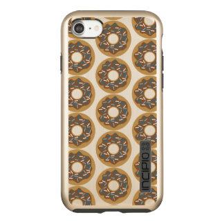 Funda DualPro Shine De Incipio Para iPhone 8/7 Los anillos de espuma del invierno con el azul