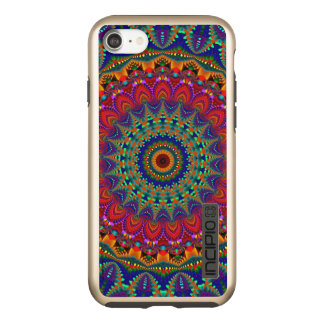 Funda DualPro Shine De Incipio Para iPhone 8/7 Mandala coloreada