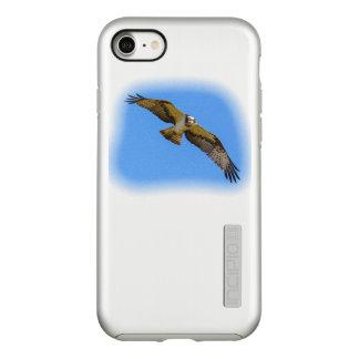 Funda DualPro Shine De Incipio Para iPhone 8/7 Osprey del vuelo con una blanco en vista