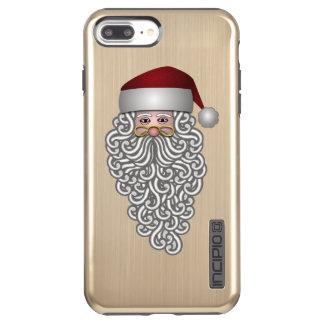 Funda DualPro Shine De Incipio Para iPhone 8 Plus/ alegría de los días de fiesta del navidad de Papá