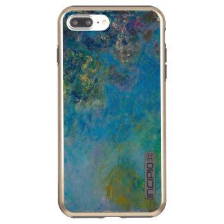 Funda DualPro Shine De Incipio Para iPhone 8 Plus/ Bella arte GalleryHD floral de las glicinias de
