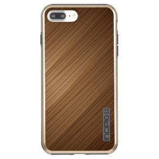 Funda DualPro Shine De Incipio Para iPhone 8 Plus/ Brillo más de DualPro del iPhone 7 de Brown, oro