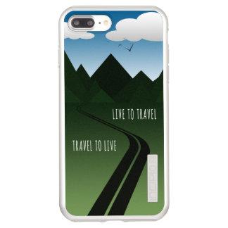Funda DualPro Shine De Incipio Para iPhone 8 Plus/ Camino de la montaña