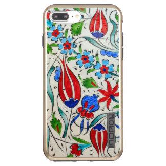 Funda DualPro Shine De Incipio Para iPhone 8 Plus/ Diseño floral turco