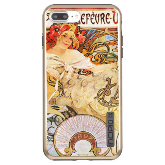 Funda DualPro Shine De Incipio Para iPhone 8 Plus/ Galletas de Alfonso Mucha Lefevre-Utile