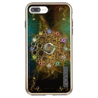 Funda DualPro Shine De Incipio Para iPhone 8 Plus/ LA CONEXIÓN DE LA PROSPERIDAD: Gemas de la fortuna